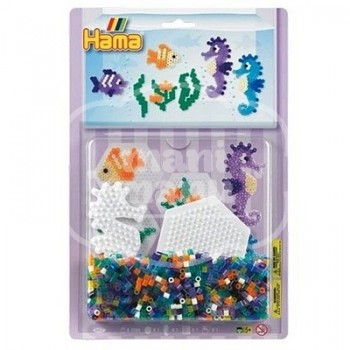 "Blister 1100 beads ""Caballito de mar"""