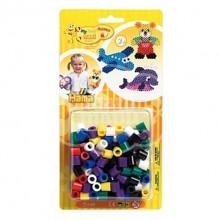 Hama MAXI mix (7 Colores Básicos) 250 piezas/pines