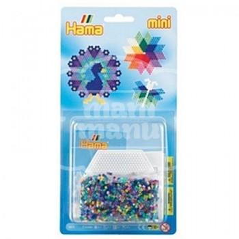 "Blister 2000 beads Mini ""placa/pegboard hexagonal"""
