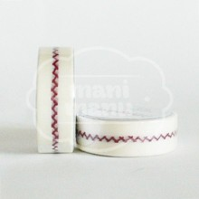 "Washi tape ""herrinbone stitch"""