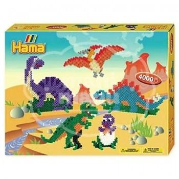 """Caja regalo 4000 beads midi """"Dinosaurios"""""""