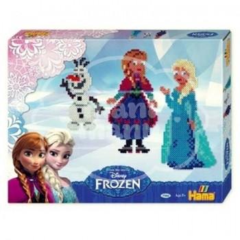 "Caja regalo Hama 4000 beads Midi ""Frozen"""