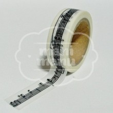 "Washi tape ""Notas Musicales"""