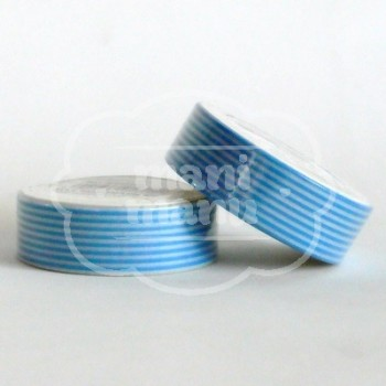 "Washi tape ""Rallas Azules"""