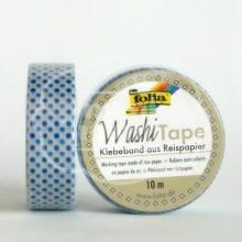 """Washi tape """"Topos Azules"""""""