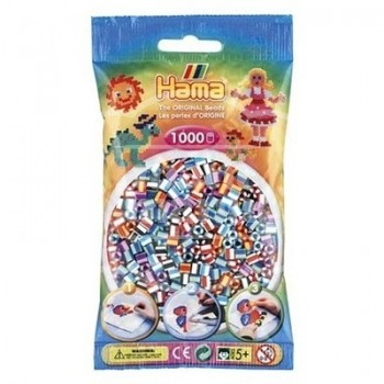 HAMA MIDI BICOLOR Mix 90 (6 colores) 1000 piezas
