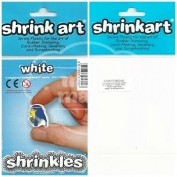 Plástico Mágico SHRINKLES 6 láminas de 13,1x10,1 cm Blanco
