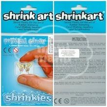 Plástico Mágico SHRINKLES 6 láminas de 13,1x10,1 cm Transparente