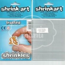 Plástico Mágico SHRINKART 6 láminas de 13,1x10,1 cm Frosted