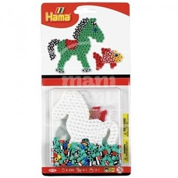 "Blister 350 beads Color y Bicolor hama midi ""Poni"""