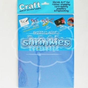 Plástico Mágico SHRINKLES 6 láminas de 26,2x20,2 cm Transparente