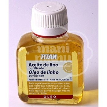 Aceite de Lino Purificado 250 ml