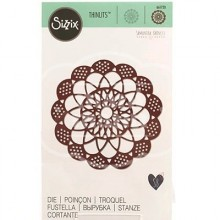 Troquel THINLITS Antique doily by Samantha Barnett
