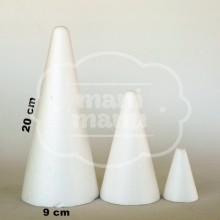 Cono de porex 20 x 9 cm