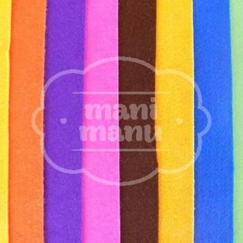 Fieltro 1 mm. 20 x 30