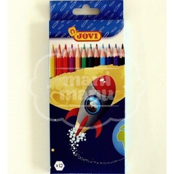 Lápices de colores JOVI-12