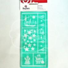 Plantilla de Stencil Autoadhesiva Rayher