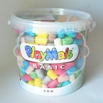 PlayMais Cubo 5 L. 500 bloques
