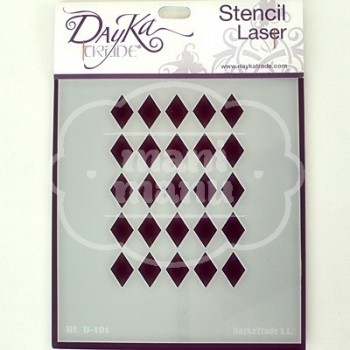 Plantilla de Stencil Dayka D-101