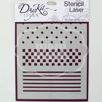 Plantilla de Stencil Dayka D-116