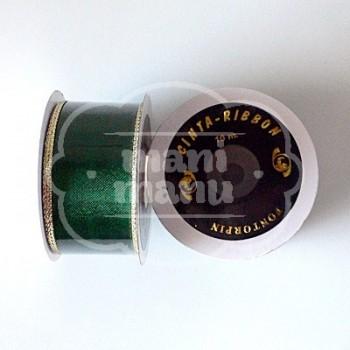 Cinta Malla Decorativa Verde 40 mm x 10 m
