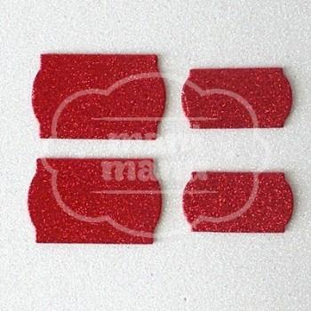 bd8502cae81 Etiquetas Goma Eva Purpurina Carmín - Manimanu