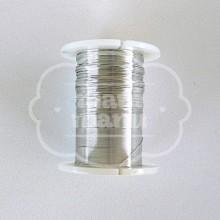 Hilo Metálico Plata 0.25 mm