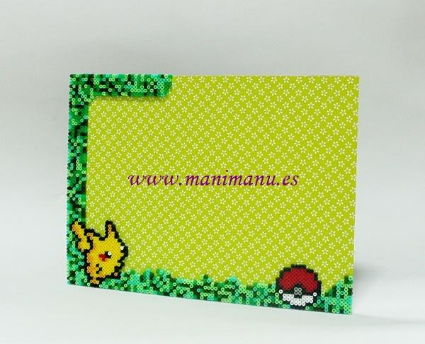 portafotos-pikachu-hama-mini